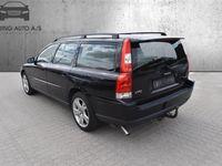 brugt Volvo V70 2,4 140HK Stc Aut. - Personbil - Sort