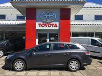 brugt Toyota Avensis 2,0 D-4D DPF T2 126HK Stc 6g