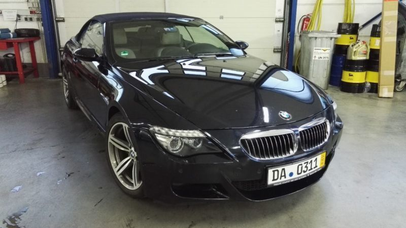 verkauft bmw m6 cabriolet lci led gebraucht 2008 km in simmern hunsr ck. Black Bedroom Furniture Sets. Home Design Ideas