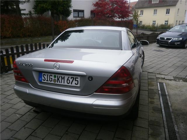verkauft mercedes slk200 slk 200t v 3 gebraucht 1999 km in pfullendorf. Black Bedroom Furniture Sets. Home Design Ideas