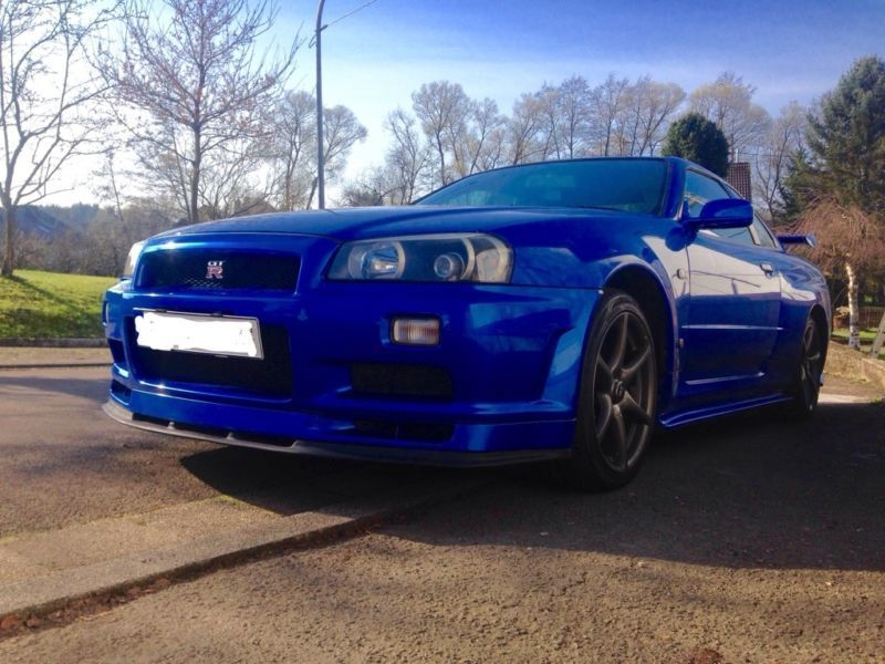verkauft nissan skyline r34 gtr gebraucht 1999 km in. Black Bedroom Furniture Sets. Home Design Ideas