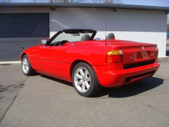 verkauft bmw z1 roadster 2 hand verde gebraucht 1993. Black Bedroom Furniture Sets. Home Design Ideas