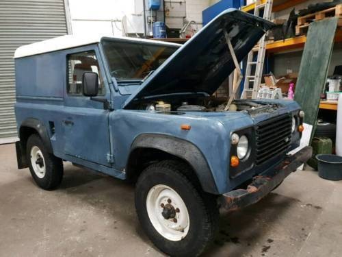 ▷ land rover defender diesel (1992) | dörentrup | autouncle