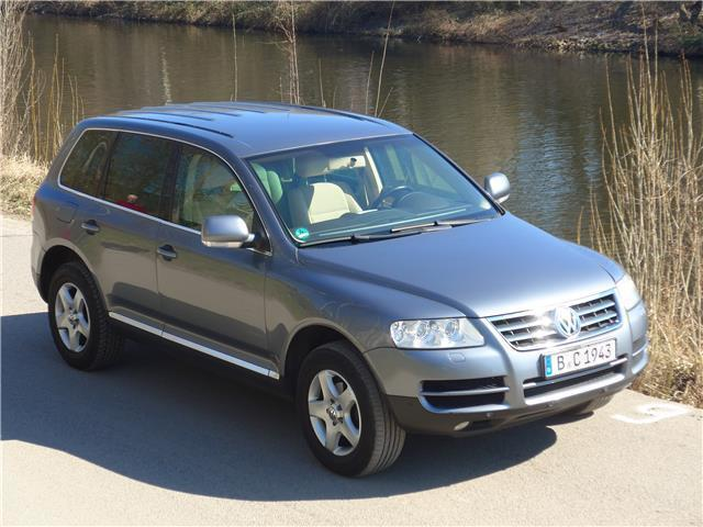verkauft vw touareg 2 5 r5 tdi automat gebraucht 2004 km in berlin. Black Bedroom Furniture Sets. Home Design Ideas