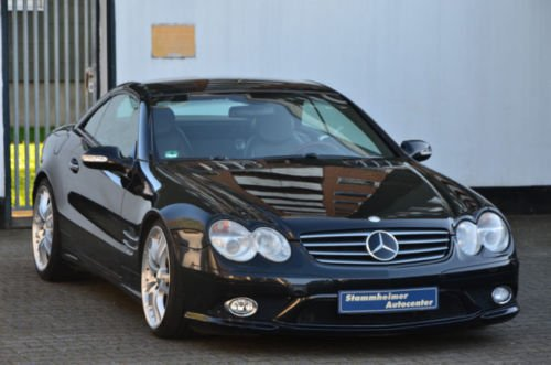 verkauft mercedes sl500 vollausstattung gebraucht 2002 km in k ln stammheim. Black Bedroom Furniture Sets. Home Design Ideas