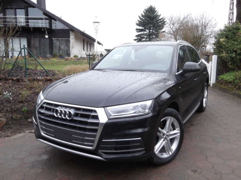 gebraucht sport s line 2 0 tdi quattro s tronic audi q5 2017 km in hamburg. Black Bedroom Furniture Sets. Home Design Ideas