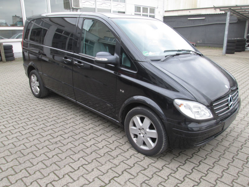 gebraucht 3 0 cdi extralang automatik trend dpf mercedes viano 2009 km in hamburg. Black Bedroom Furniture Sets. Home Design Ideas
