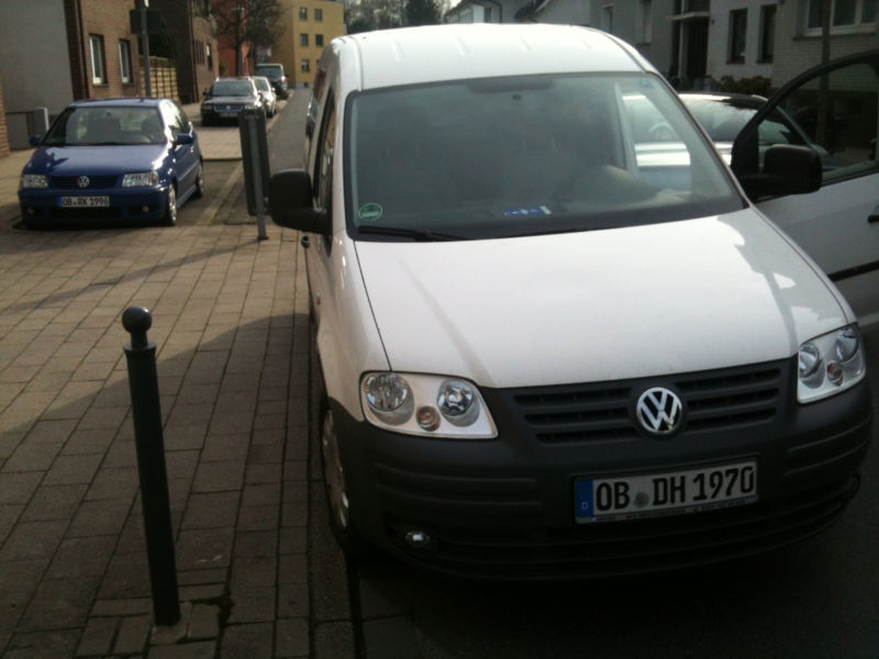 verkauft vw caddy maxi 1 9 tdi gebraucht 2008 km in gronau. Black Bedroom Furniture Sets. Home Design Ideas