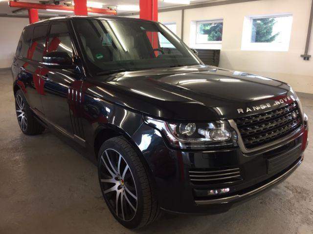 range rover gebrauchte land rover range rover kaufen 754 g nstige autos zum verkauf. Black Bedroom Furniture Sets. Home Design Ideas