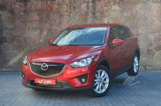 gebraucht Mazda CX-5 2.2 SKY-D AWD Sports-Line Xenon Navi Leder AH