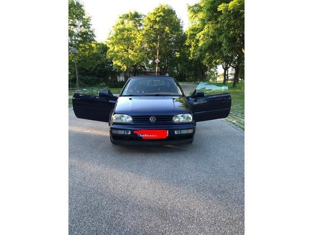 verkauft vw golf cabriolet cabrio 2 0 gebraucht 1996 km in weilheim i ob. Black Bedroom Furniture Sets. Home Design Ideas