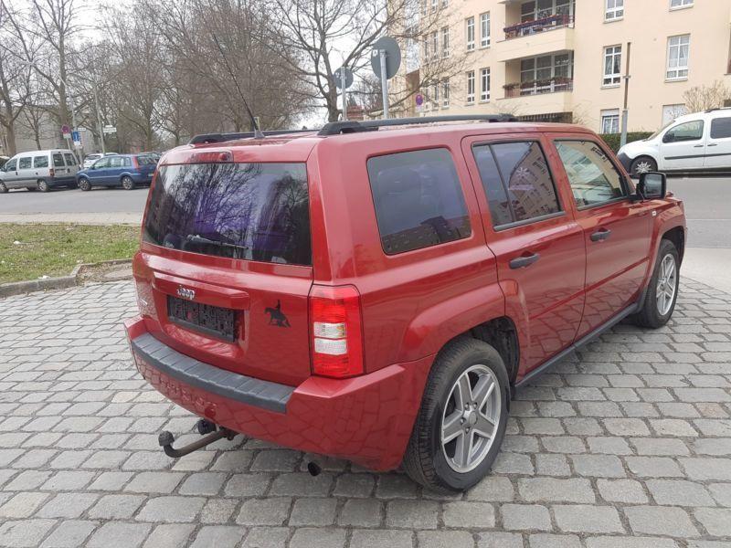 verkauft jeep patriot 2 0 crd dpf limi gebraucht 2007 km in berlin. Black Bedroom Furniture Sets. Home Design Ideas