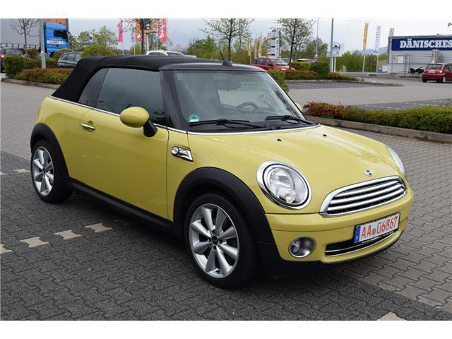 verkauft mini cooper cabriolet cabrio gebraucht 2009 km in aalen. Black Bedroom Furniture Sets. Home Design Ideas