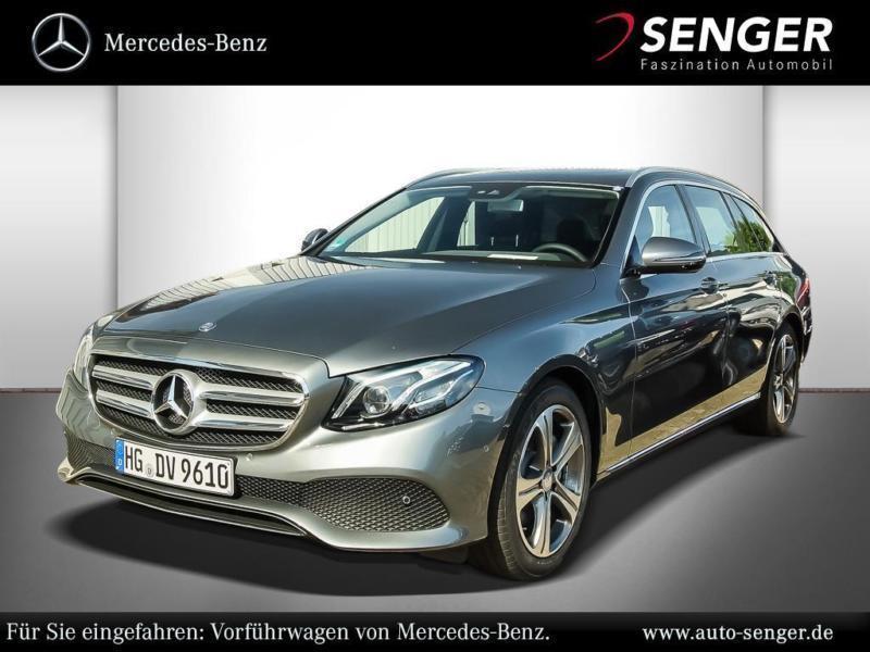 gebraucht Mercedes E220 T-Modell Avantgarde SHD COMAND ILS-LE
