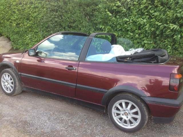 verkauft vw golf cabriolet cabrio 2 0 gebraucht 1994 km in leipzig. Black Bedroom Furniture Sets. Home Design Ideas