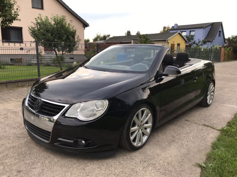 verkauft vw eos 2 0 tdi gebraucht 2008 km in berlin. Black Bedroom Furniture Sets. Home Design Ideas