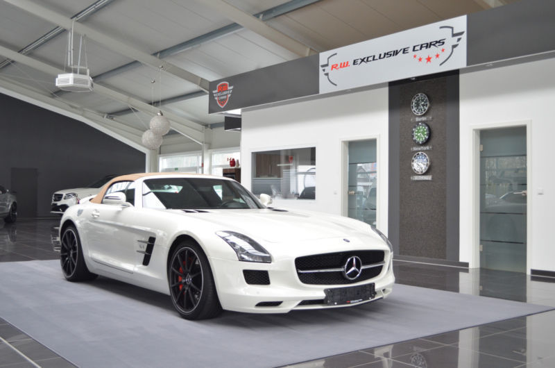verkauft mercedes sls amg roadster des gebraucht 2012 km in werlte. Black Bedroom Furniture Sets. Home Design Ideas