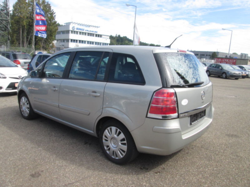 verkauft opel zafira b catch me 7 si gebraucht 2007 km in schw bisch gm nd. Black Bedroom Furniture Sets. Home Design Ideas