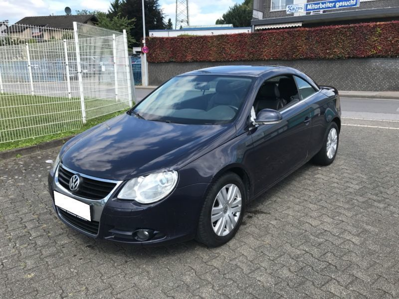 verkauft vw eos 2 0 tdi klima gebraucht 2007 km in aachen. Black Bedroom Furniture Sets. Home Design Ideas