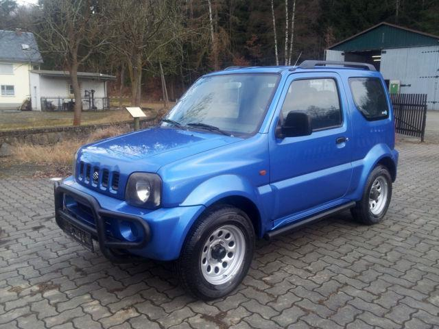 verkauft suzuki jimny 4x4 gebraucht 2002 km in. Black Bedroom Furniture Sets. Home Design Ideas