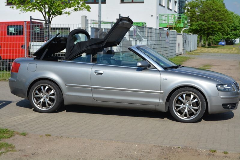 verkauft audi a4 cabriolet 1 8 t gebraucht 2004 km in hannover. Black Bedroom Furniture Sets. Home Design Ideas