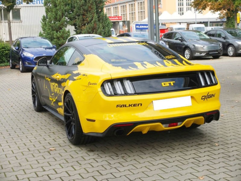verkauft ford mustang gt 5 0 ti vct v8 gebraucht 2016 9. Black Bedroom Furniture Sets. Home Design Ideas