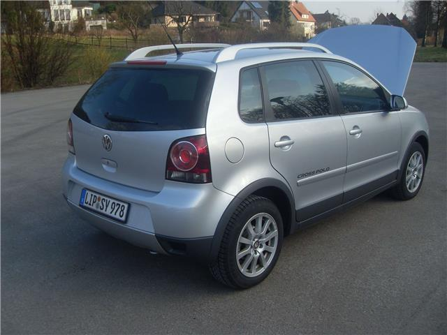 verkauft vw polo cross 1 6 gebraucht 2006 km in. Black Bedroom Furniture Sets. Home Design Ideas