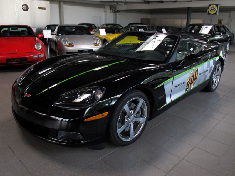 gebraucht c6 coupecabrio schalter indy 500 pace car corvette c6 2008 km in. Black Bedroom Furniture Sets. Home Design Ideas