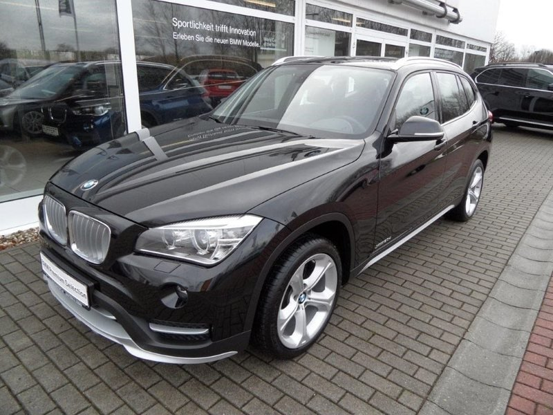 verkauft bmw x1 xdrive20d xline gebraucht 2014 km. Black Bedroom Furniture Sets. Home Design Ideas