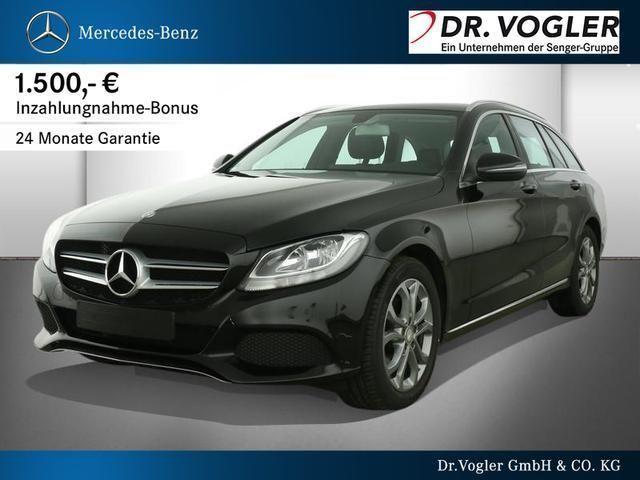 gebraucht Mercedes C220 d T Avantgarde Park-Assist Sitzheizung