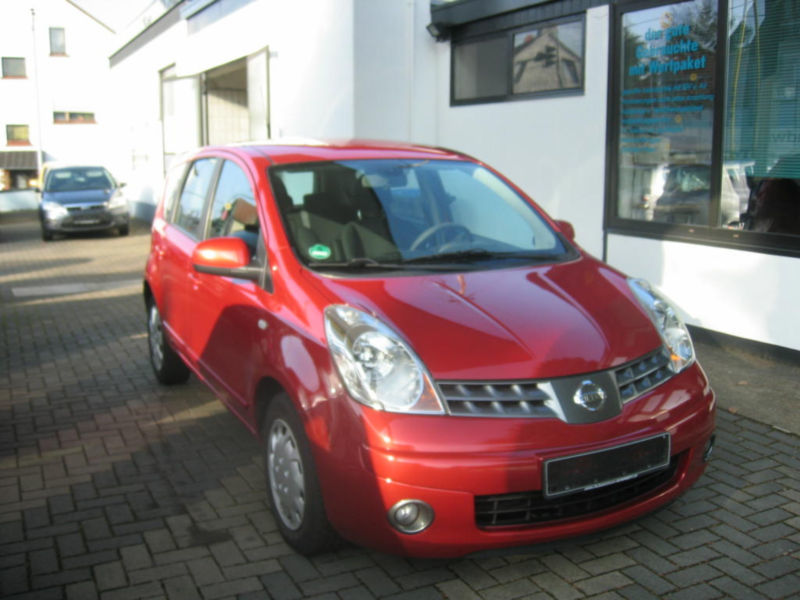 verkauft nissan note acenta gebraucht 2008 km in. Black Bedroom Furniture Sets. Home Design Ideas
