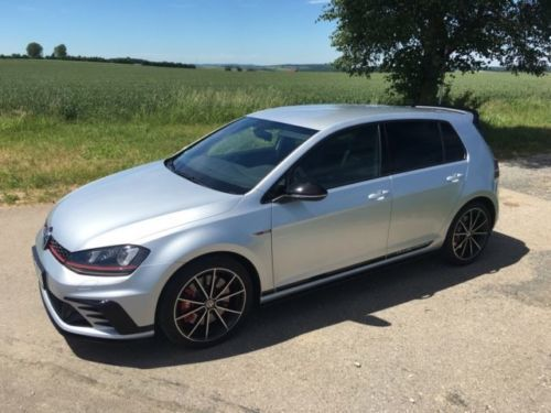 verkauft vw golf gti clubsport gebraucht 2016 km in alesheim. Black Bedroom Furniture Sets. Home Design Ideas