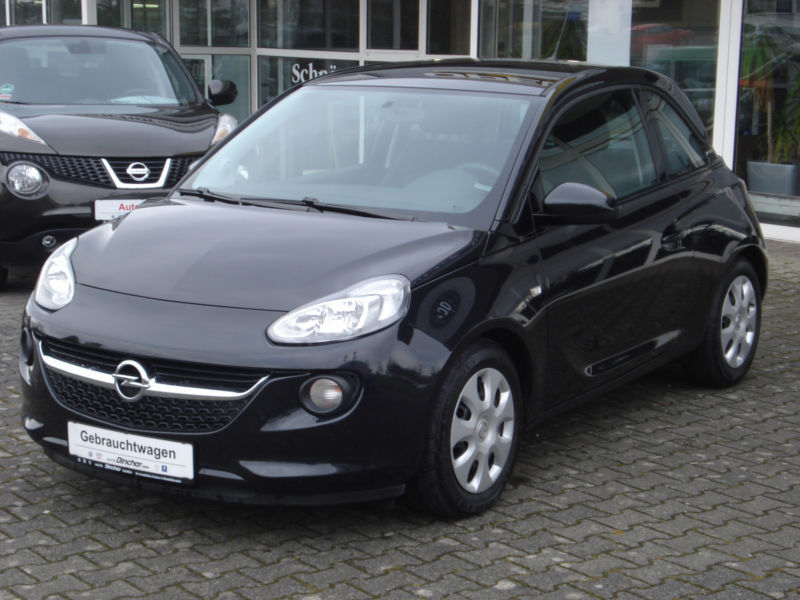 verkauft opel adam 1 2 gebraucht 2013 km in. Black Bedroom Furniture Sets. Home Design Ideas