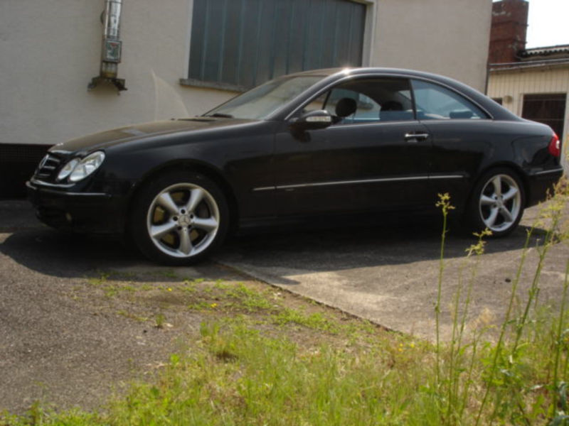 verkauft mercedes clk500 coupe avantga gebraucht 2004 km in dessau. Black Bedroom Furniture Sets. Home Design Ideas