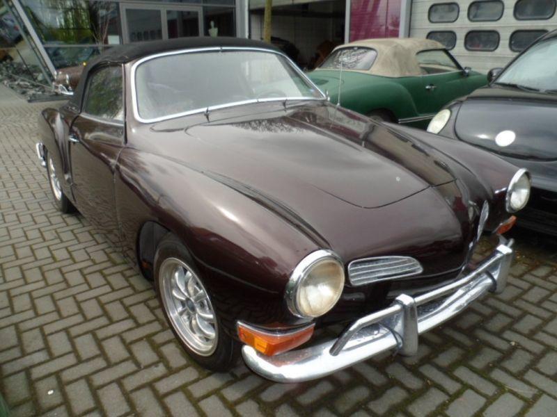 verkauft vw karmann ghia vw cabrio typ gebraucht 1970 km in sassenburg. Black Bedroom Furniture Sets. Home Design Ideas