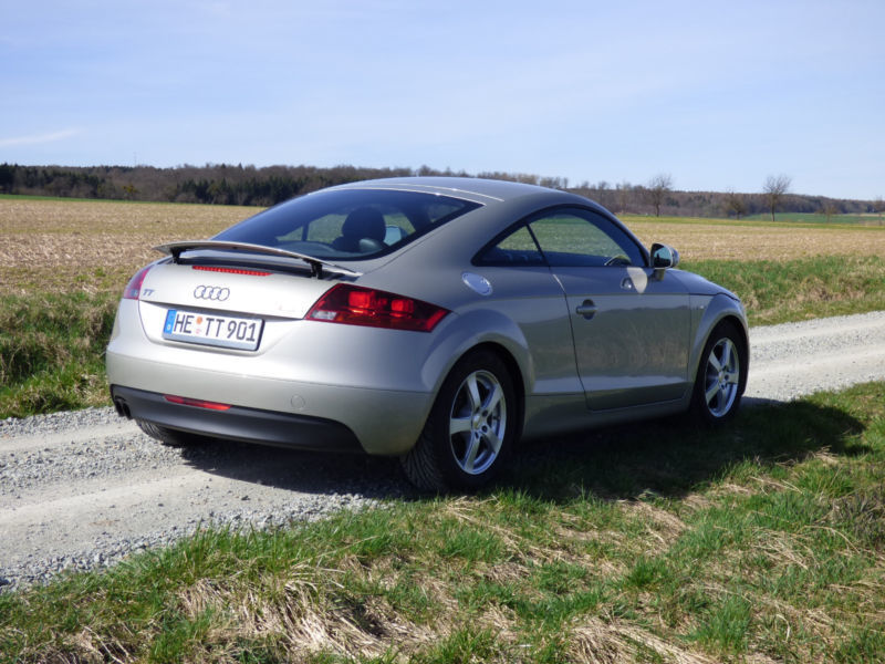 verkauft audi tt coupe 2 0 tfsi gebraucht 2007 km in warberg. Black Bedroom Furniture Sets. Home Design Ideas