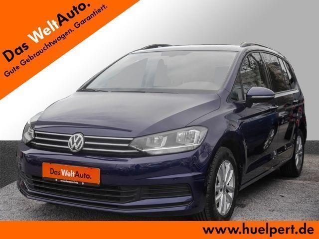 gebraucht VW Touran 1.6 TDI DSG Comfortline Navi Sitzhzg.