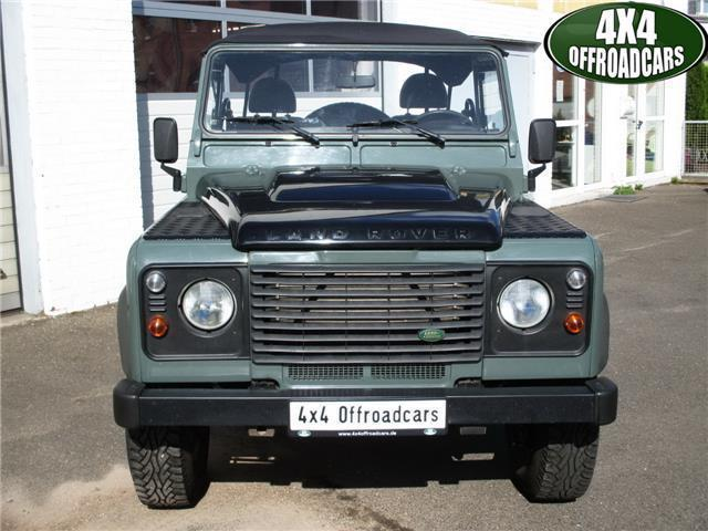 verkauft land rover defender 90 soft t gebraucht 2008 km in h rth. Black Bedroom Furniture Sets. Home Design Ideas