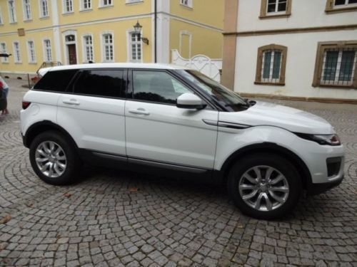 verkauft land rover range rover evoque gebraucht 2016 km in angelbachtal. Black Bedroom Furniture Sets. Home Design Ideas