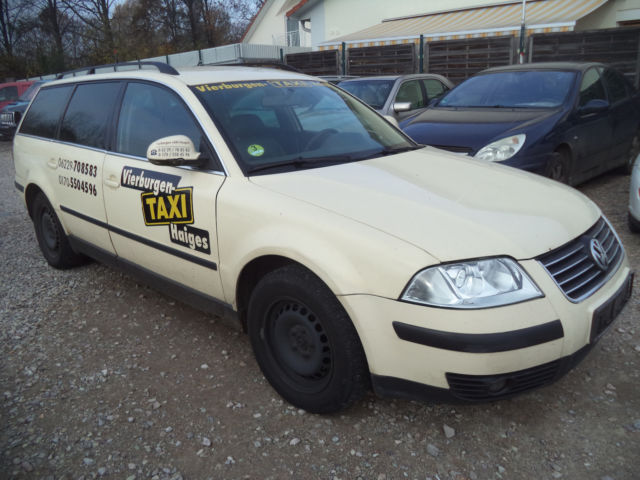 verkauft vw passat variant family taxi gebraucht 2005 km in weinheim. Black Bedroom Furniture Sets. Home Design Ideas