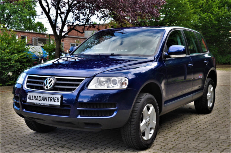 verkauft vw touareg r5 2 5 tdi automat gebraucht 2006 km in hamburg. Black Bedroom Furniture Sets. Home Design Ideas