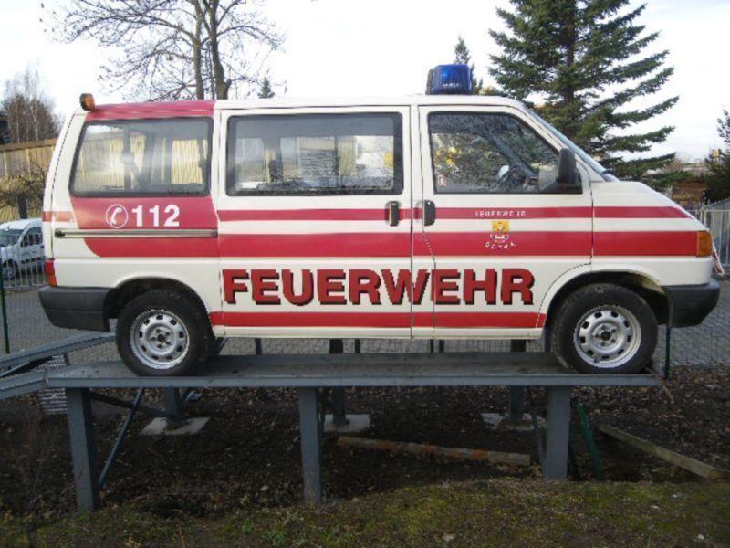 Verkauft VW T4 MTW Feuerwehr 9- Sitzer., gebraucht 1994 ...
