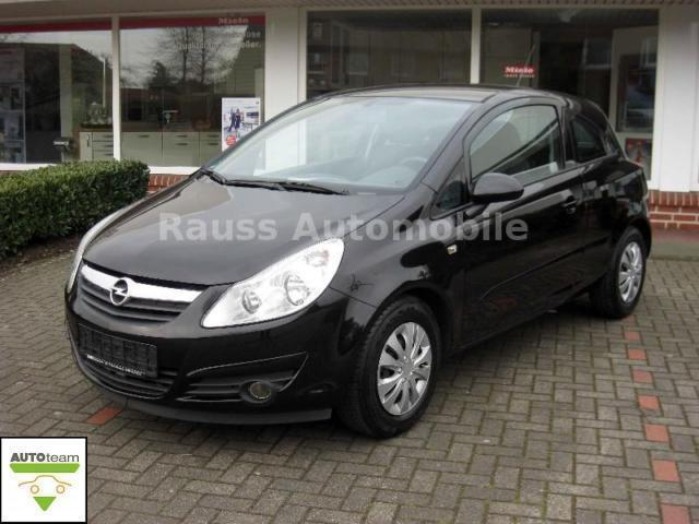 verkauft opel corsa d edition gebraucht 2007 km. Black Bedroom Furniture Sets. Home Design Ideas