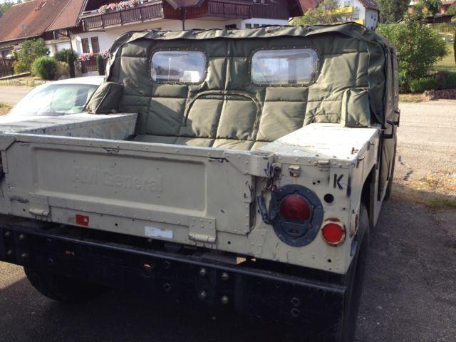 verkauft hummer h1 hmmwv humvee gebraucht 1985 km in oberreichenbach i. Black Bedroom Furniture Sets. Home Design Ideas