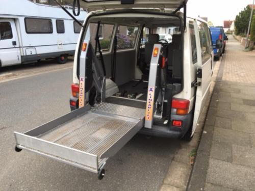 verkauft vw t4 vw bullidiesel rollstuh gebraucht 2001 km in bad oeynhausen. Black Bedroom Furniture Sets. Home Design Ideas