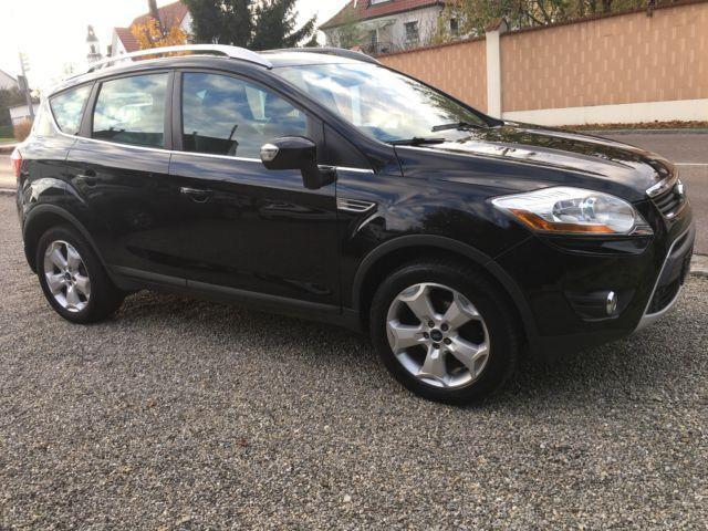 verkauft ford kuga titanium automatik gebraucht 2010 km in v hringen. Black Bedroom Furniture Sets. Home Design Ideas