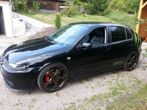 verkauft seat leon 2 8 v6 cupra allrad gebraucht 2002 km in donaustauf. Black Bedroom Furniture Sets. Home Design Ideas