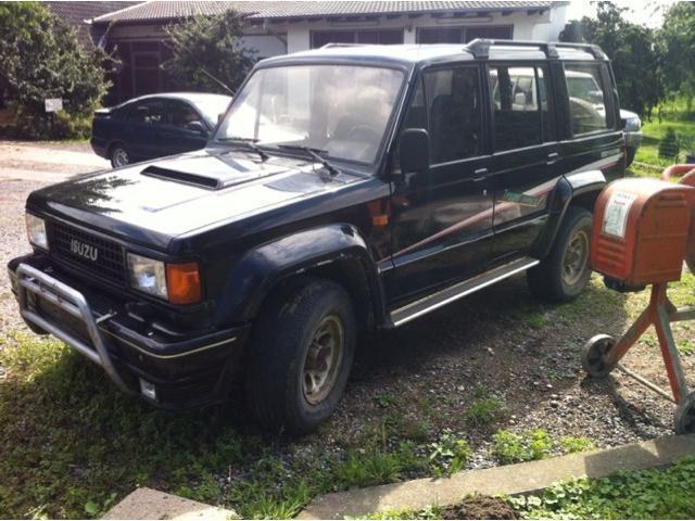 verkauft isuzu trooper magic td 2.8, gebraucht 1992, 143.000 km in werl