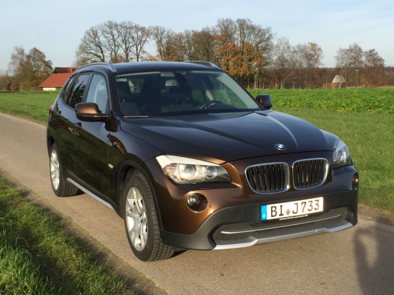 verkauft bmw x1 sdrive18d gebraucht 2010 km in enger. Black Bedroom Furniture Sets. Home Design Ideas