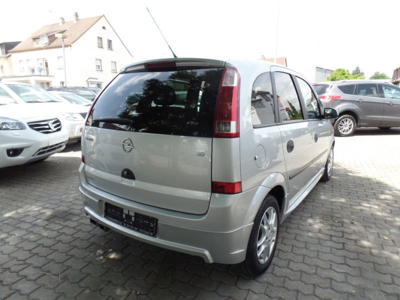 verkauft opel meriva 1 8 16v scheckh gebraucht 2006 km in saarlouis. Black Bedroom Furniture Sets. Home Design Ideas